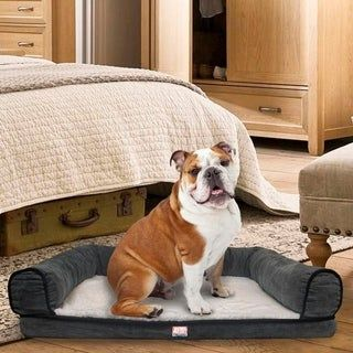 Animal Planet Sofa Style Orthopedic Pet Dog Bed Mattress Brown Large Orthopedic Dog Bed Dog Bed Pet Dogs