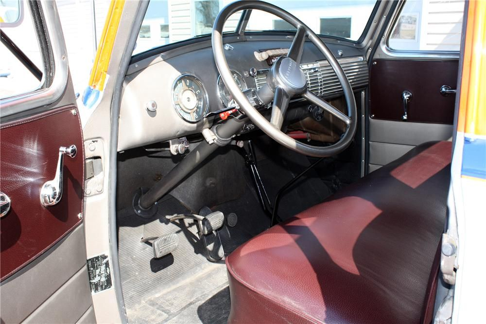 1948 CHEVROLET 1 TON STAKE BED TRUCK Interior 152103