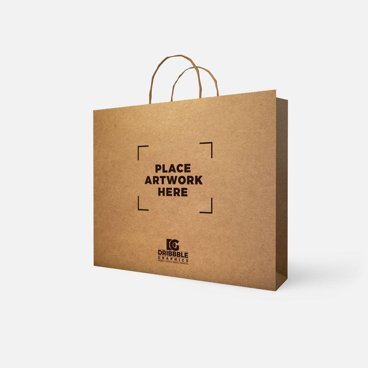 Download Free Psd Paper Bag Mockup 2018 Bag Mockup Photoshop Mockup Free Paper Bag