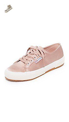 Damen 2750 Satinw Sneaker, Beige (Beige), 41 EU Superga