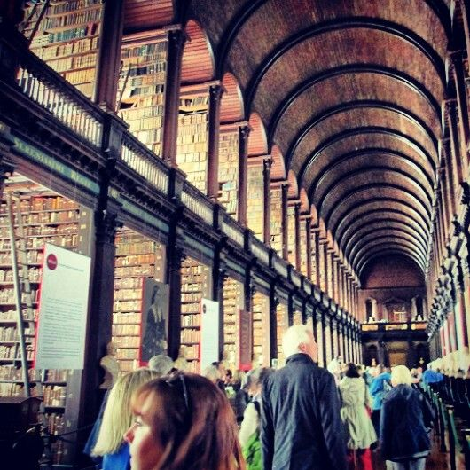 Trinity college old librery