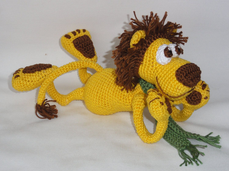 Amigurumi Lion Free Pattern : Leon the lion amigurumi crochet pattern por ildikko en etsy