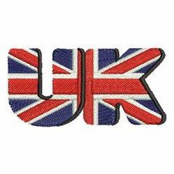 United Kingdom Flag embroidery design