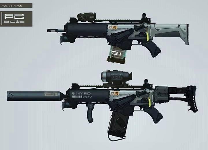 Armas De Guerra Del Futuro