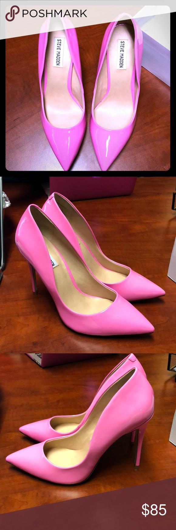 a2e218a29f232 brand new steve madden daisie pink pumps size 9! brand new, never worn! Steve  Madden Shoes Heels