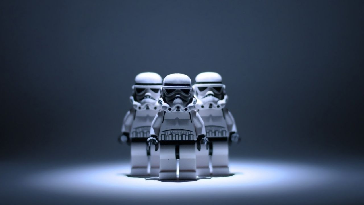 Lego Stormtroopers Lego wallpaper, Star wars wallpaper