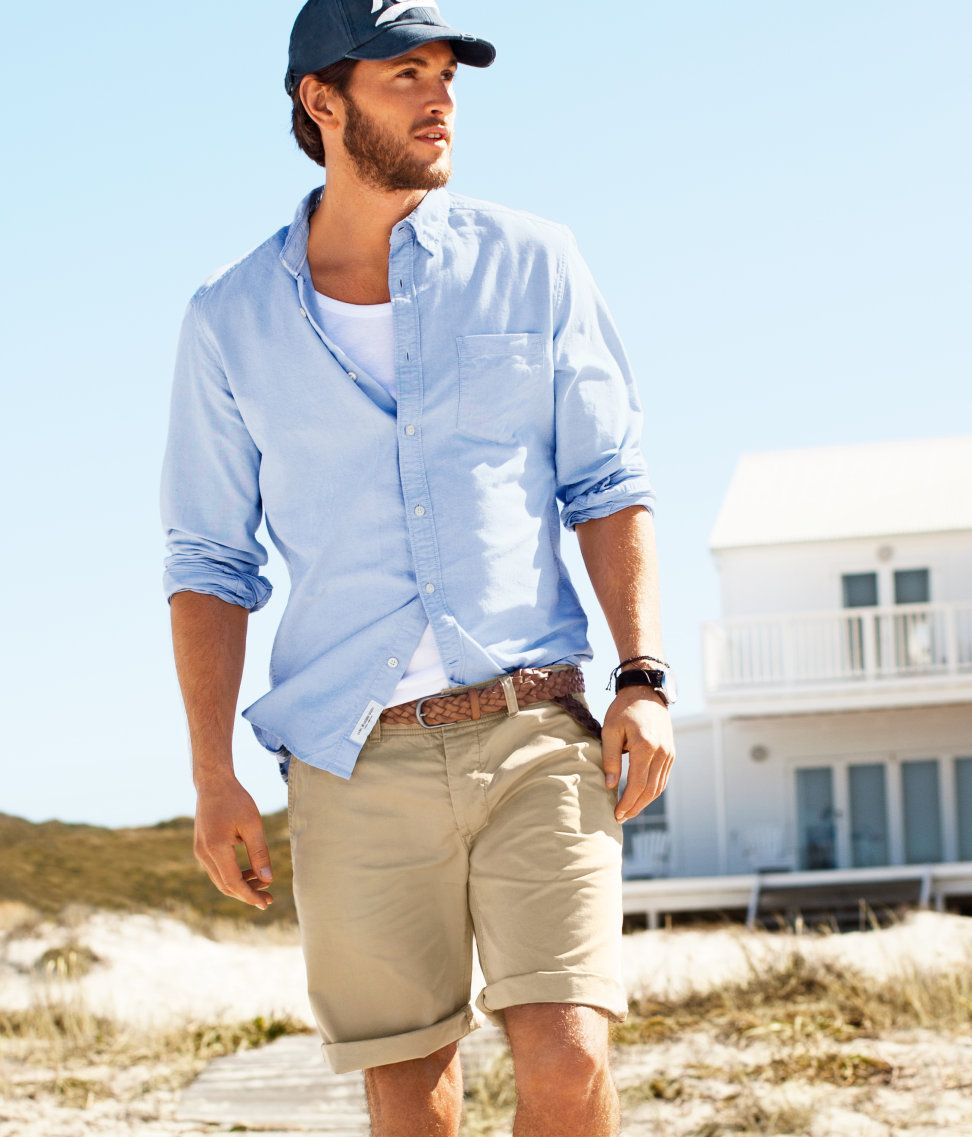 Love this style in a man! (With images) | Casual shorts ...