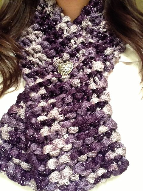Ravelry: iKnitnstitch\'s Un-Ruffled Sashay Scarf | Crafts | Pinterest ...