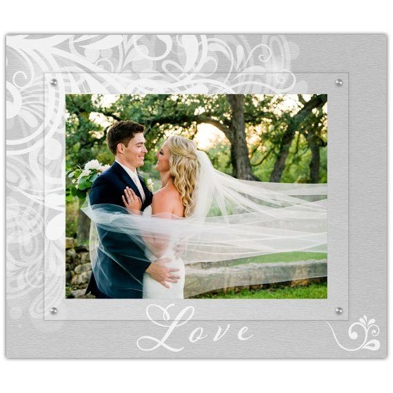 Classic Wedding Engagement Anniversary Picture Frame 11x14 Landscape Photo Frame Wall Frames Floating Photo Frames Frames On Wall Wedding Picture Frames Love Picture Frames