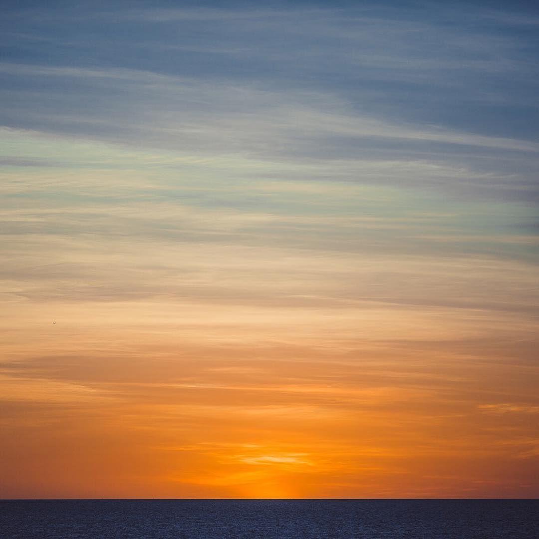 As the sun goes down in  Darwin, Northern Territory, Australia