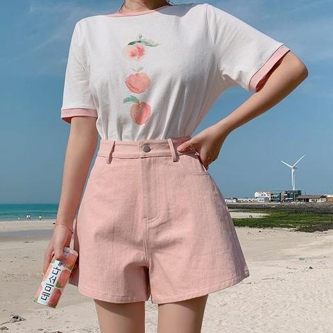 Photo of Peach, Korean, Love