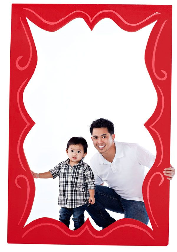 Giant Father S Day Frame Fathers Day Frames Family Reunion
