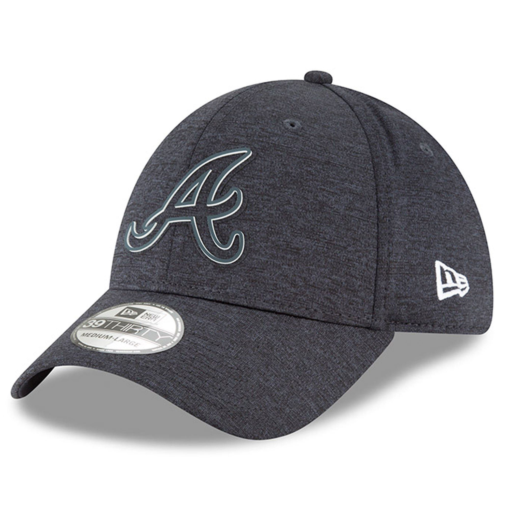 new style 74198 6e51e Atlanta Braves New Era 2018 Clubhouse Collection Classic 39THIRTY Flex Hat  – Navy