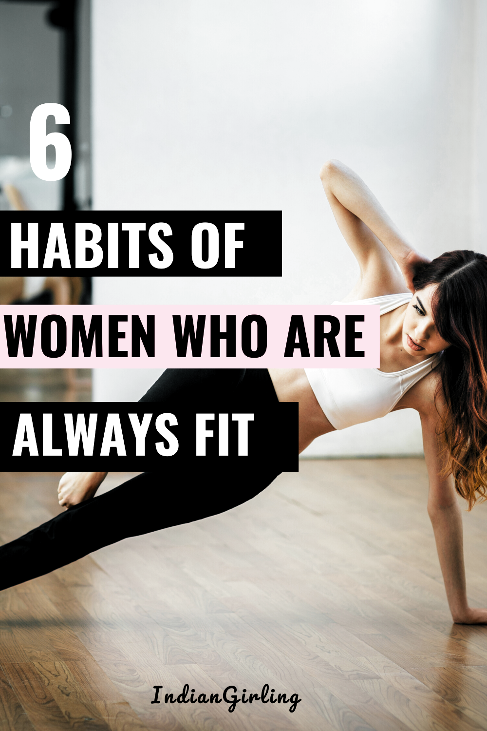Lets get back in shape! Ever wonder what habits fit women have that you dont? Check out the 6 habits...
