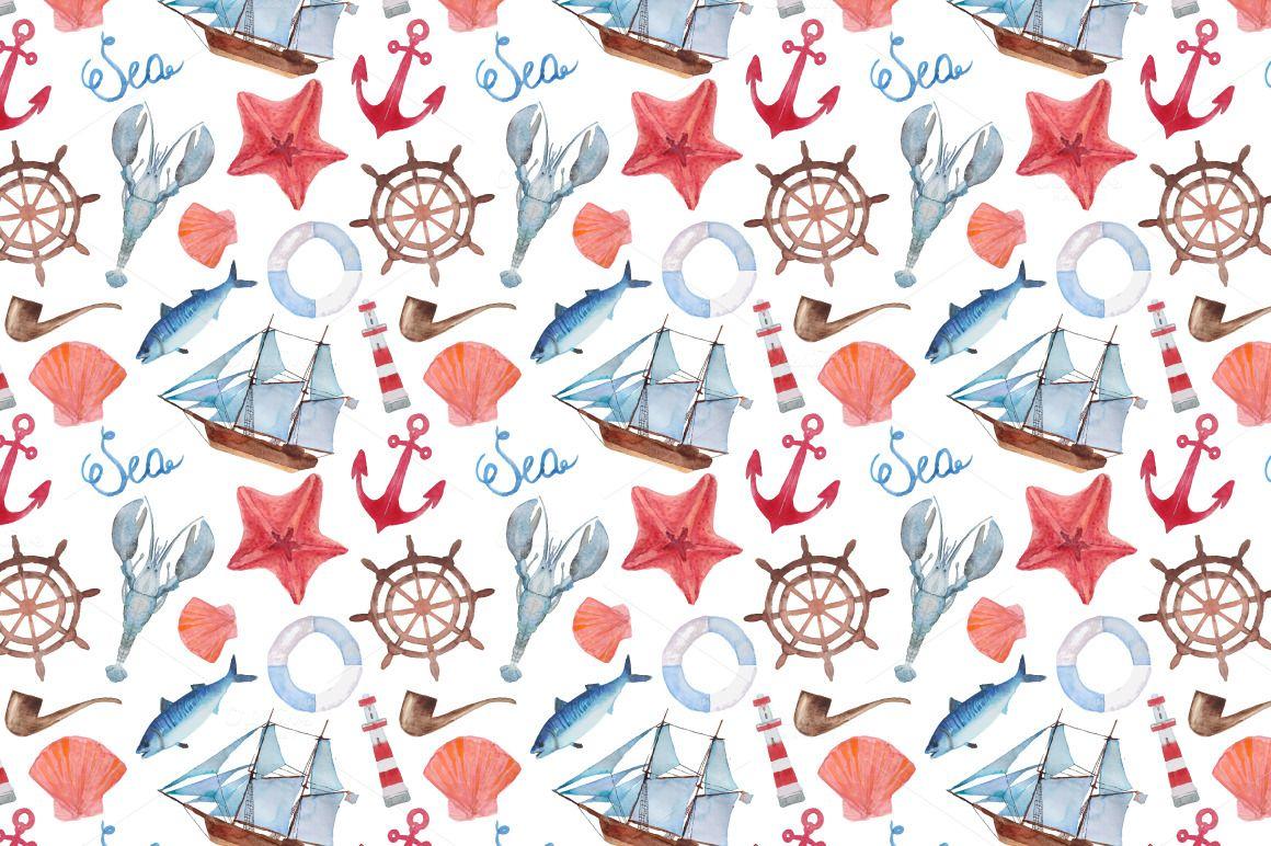 Nautical pack - Illustrations - 3