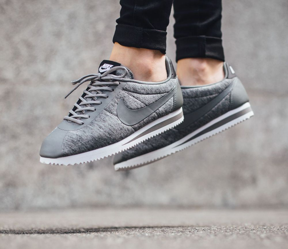 Nike Classic Cortez Quilted Qs Black/Khaki