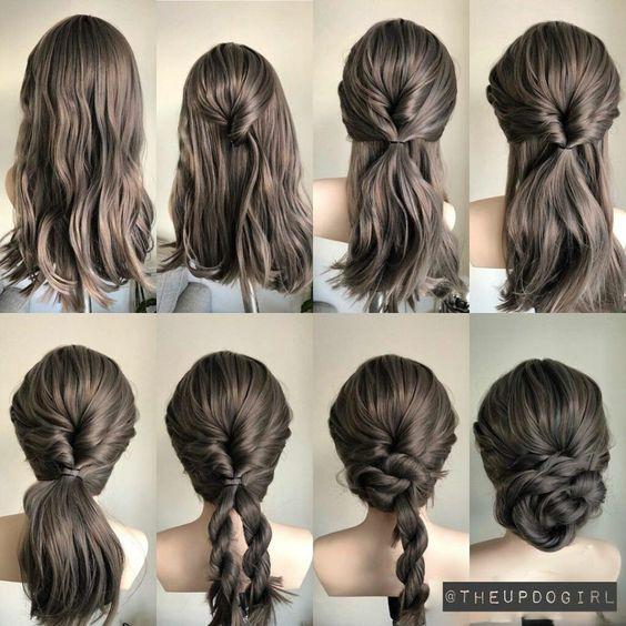 Diy Wedding Hair, Simple Wedding