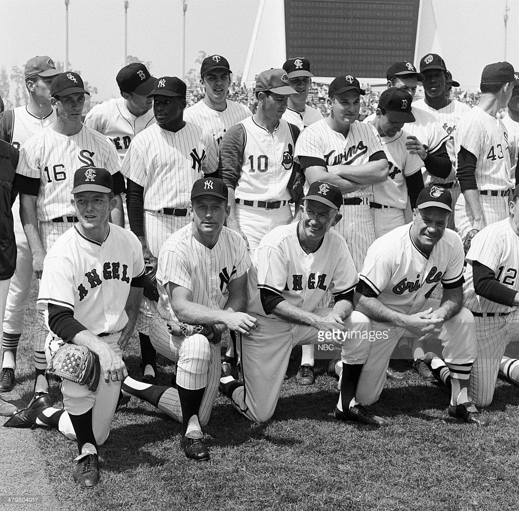 "Stargazing Wishes In Anaheim Ca: NBC's ""MLB: 1967 All-Star Game"""