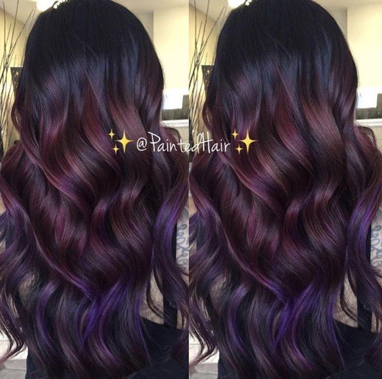 Burgundy, purple, amethyst hair color | hair | Pinterest ...