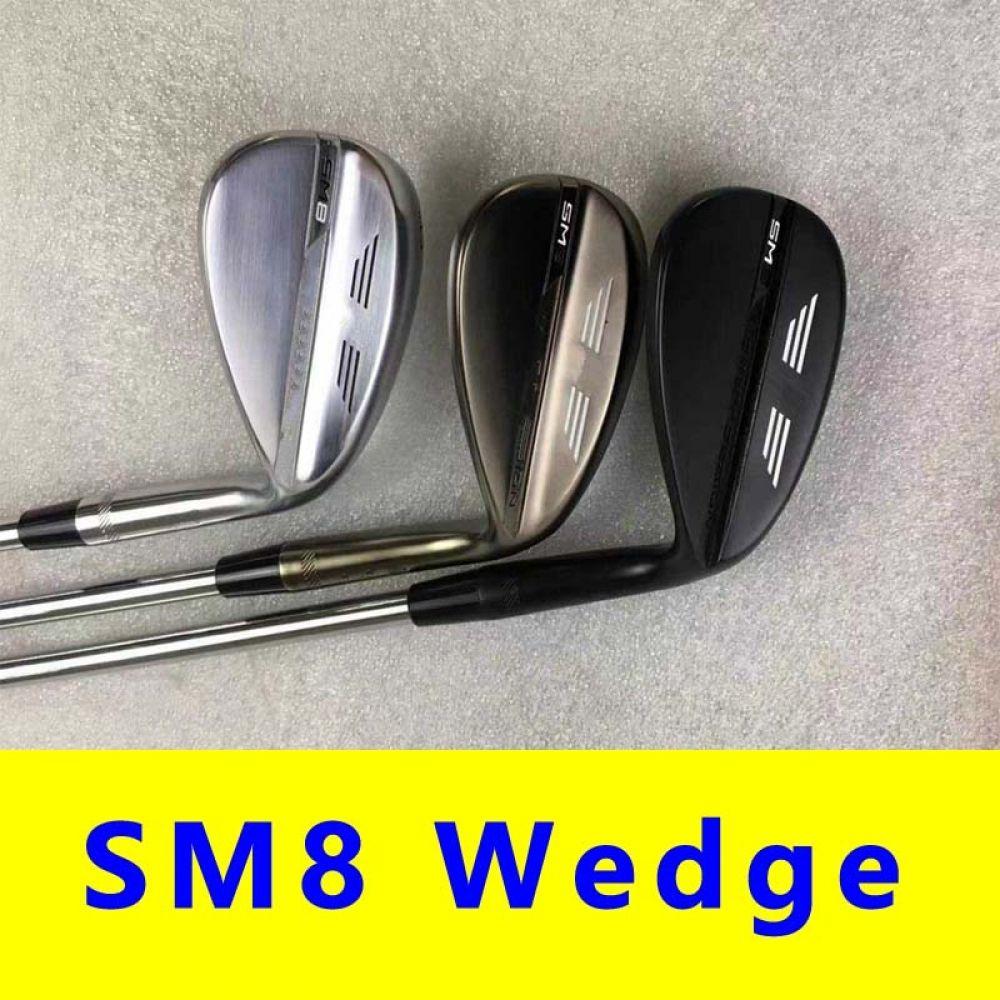 Sm8 Golf Wedge 50 52 54 56 58 60 Silver Black Grey Golf Clubs Driver Fairway Irons Hybrid Wedges Putter Head Cover Mens Sports In 2020 Golf Clubs Golf Wedges Golf