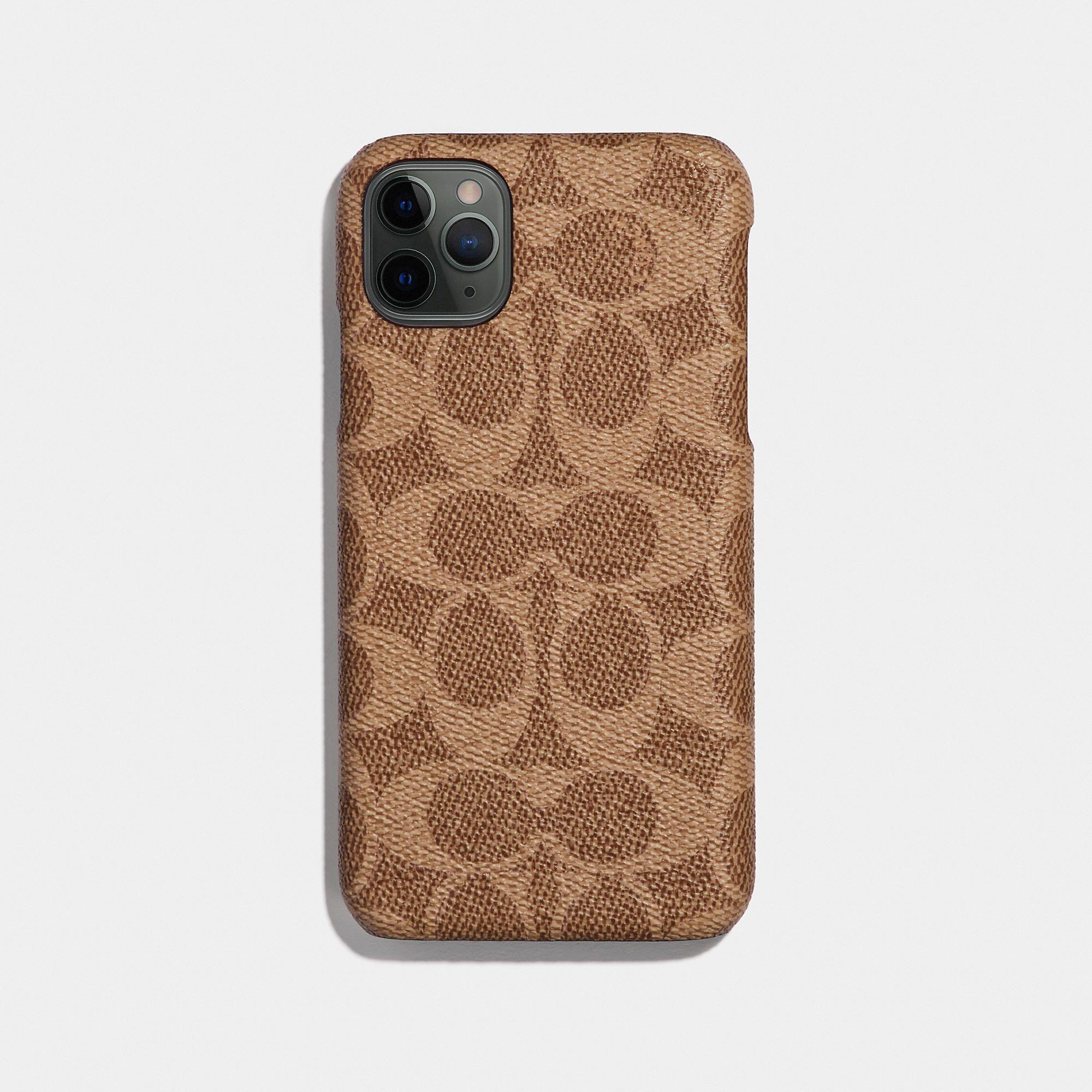 Iphone 11 Pro Case In Signature Canvas In 2020 Iphone 11 Pro Case Pretty Phone Cases Iphone 11