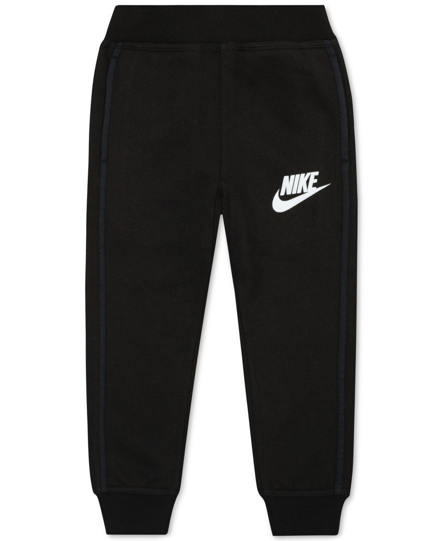 Nike Little Girls N40 Cuff Fleece Pants