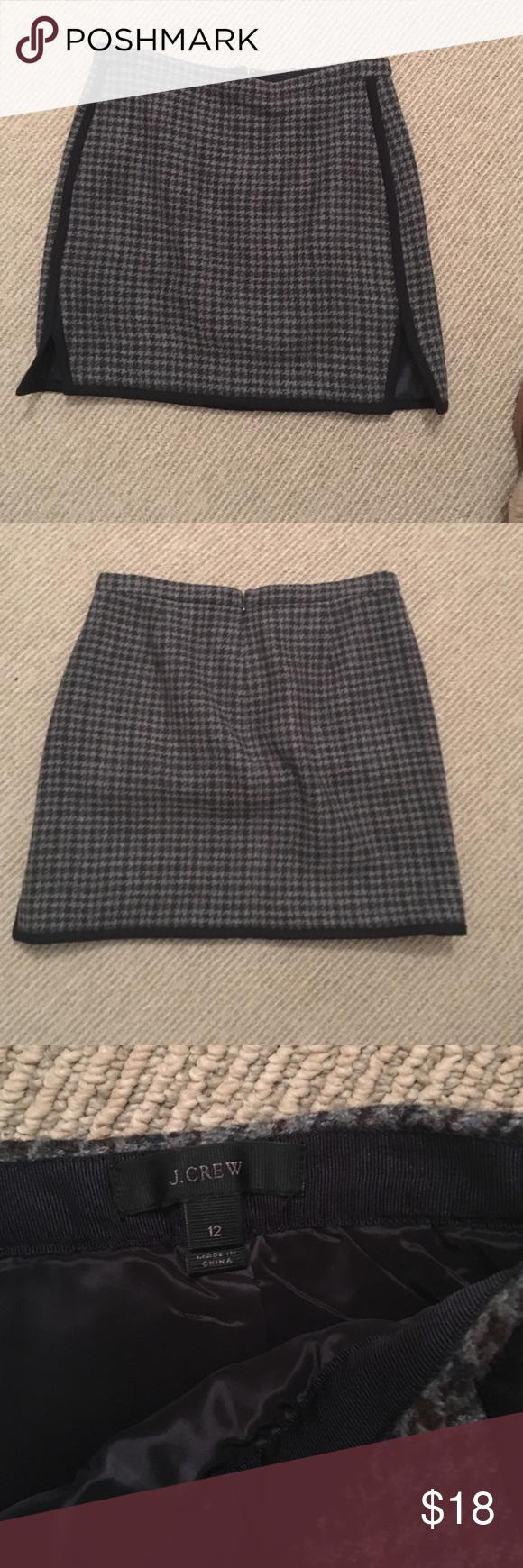 JCrew skirt JCrew skirt. Never been worn J. Crew Skirts