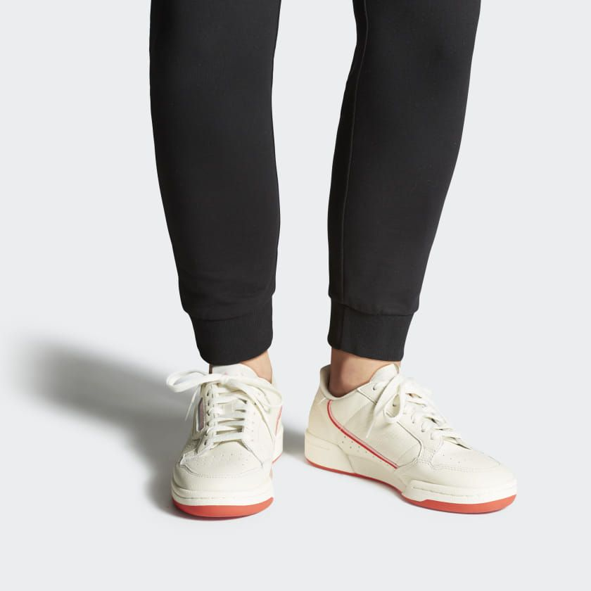 Continental 80 Shoes Off White Active Red True Pink Ee3831 Shoes Sneakers Adidas Shoes Adidas Women