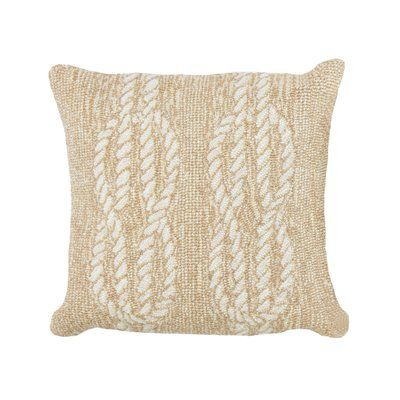 Breakwater Bay Lowes Ropes IndoorOutdoor Throw Pillow Color Custom Lowes Outdoor Decorative Pillows