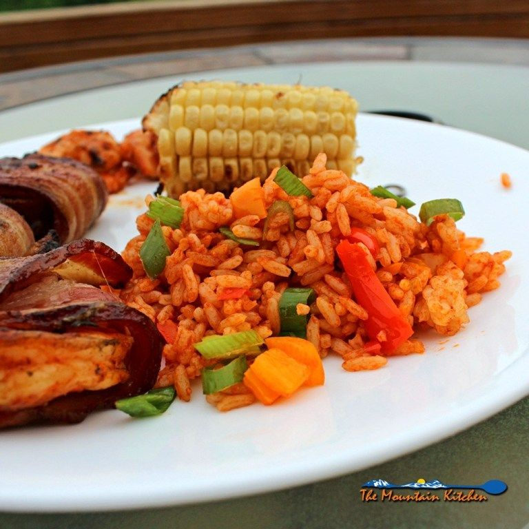 Easy Cajun Rice #cajundishes