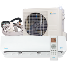 Details About 12000 Btu Mini Split Air Conditioner With Heat Pump Remote And Installation Kit