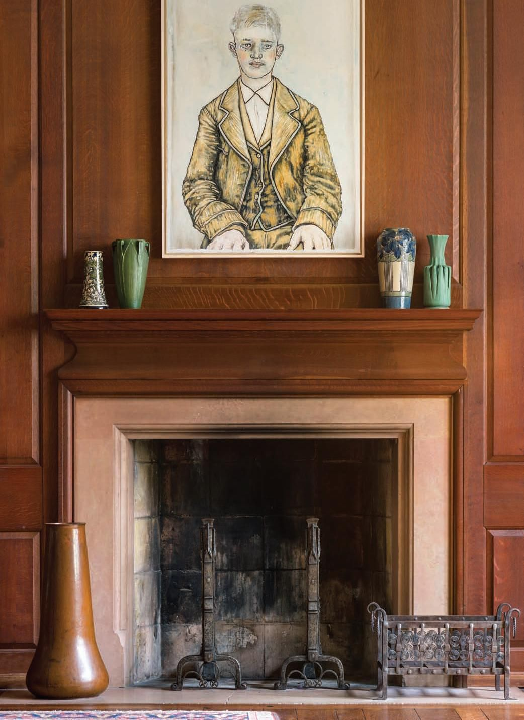 Arts And Crafts | Yellin | Marie Zimmermann | Jarvie | Newcomb Pottery |  Grueby | Teco | The Allure Of Leeds House: An Unparalleled Private  Collection Finds ...
