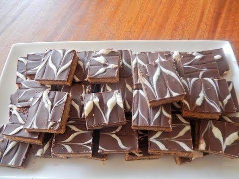 حلويات سهلة حلوة الرخامة مع طبخ ليلى Halwat Rkhama Youtube Chocolate Candy Biscuits