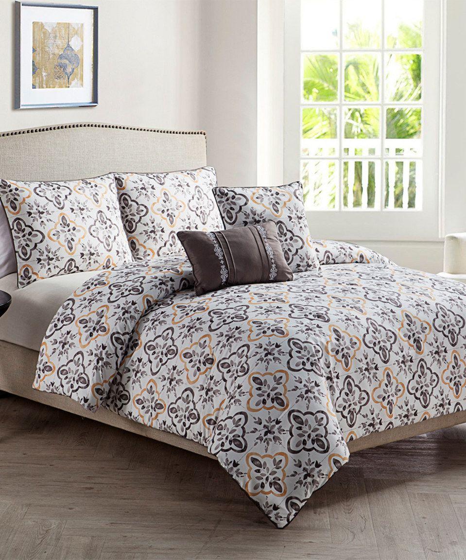 Yellow Liliana Comforter Set Comforter sets, Comforters