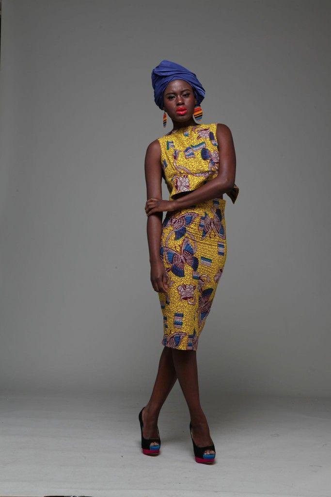 Prelim Ankara Crop Top and Skirt Set ~Latest African Fashion, African Prints, African fashion styles, African clothing, Nigerian style, Ghanaian fashion, African women dresses, African Bags, African shoes, Nigerian fashion, Ankara, Kitenge, Aso okè, Kenté, brocade. ~DKK