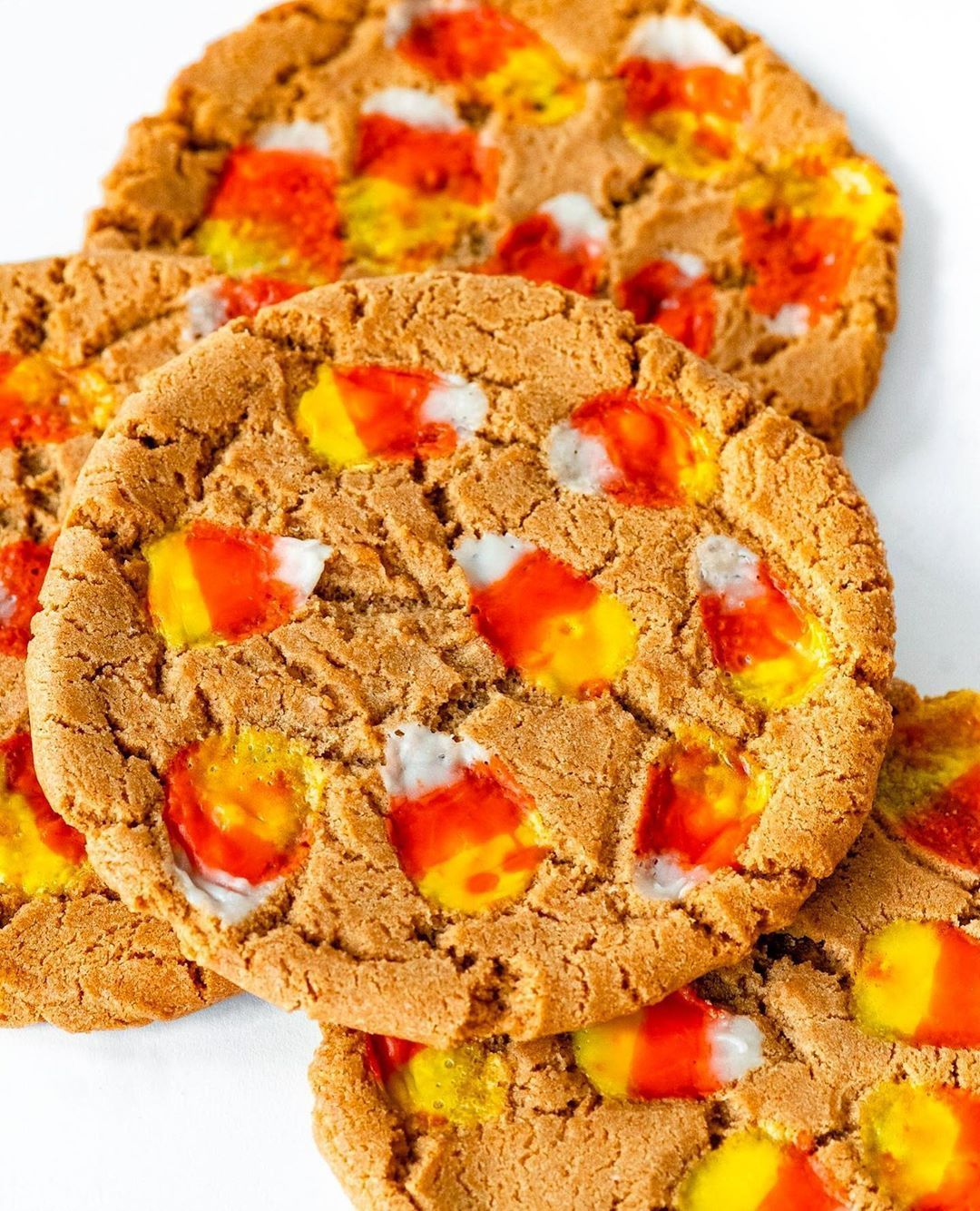 "Goldbelly on Instagram: ""cookie lovers, take note: GIANT peanut butter candy corn cookies are here to supersize your #Halloween  Goldbelly on Instagram: ""cookie lovers, take note: GIANT peanut butter candy corn cookies are here to supersize your #Halloween #candycorncookies"