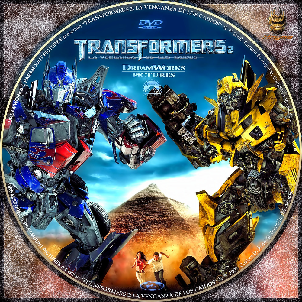 Transformers La Venganza De Los Caídos 2009 Transformers Revenge Of The Fallen Comic Book Cover