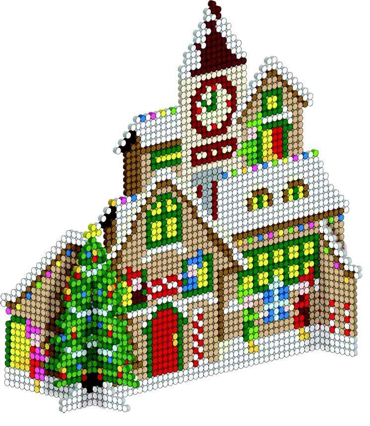 Bugelperlen Vorlagen Zu Weihnachten Kostenlos 12 Bastelideen 2 7