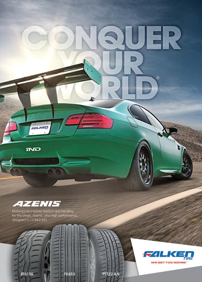 European Car Magazine Advertising Conquer Your World Azenis