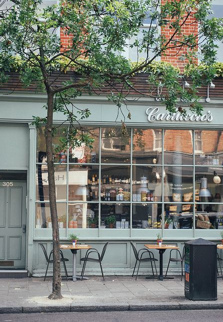Carluccio S London Outdoor Cafe Cafe Seating Restaurant Design