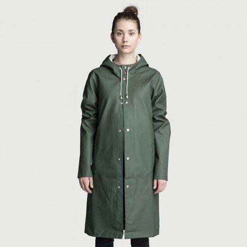 Womens long rain coats