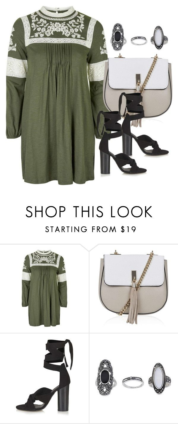 """Topshop"" by erinforde ❤ liked on Polyvore featuring Topshop, dress and topshop"