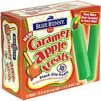 Blue Bunny Caramel Apple Treats 10 Each Foodfacts Com Find Out What S Really In Your Food Caramel Apple Treats Apple Treat Caramel Apples