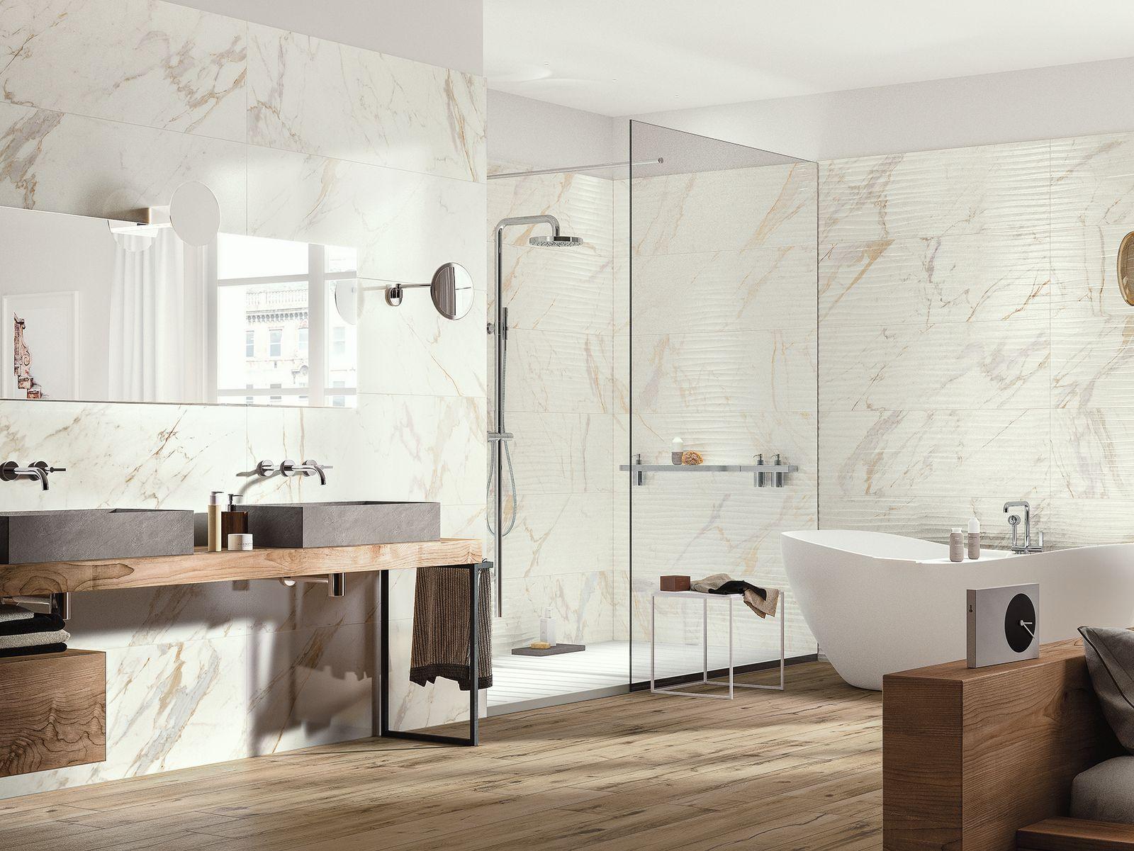 Keramisch marmer tegels - Badkamer licht | Pinterest - Tegels ...