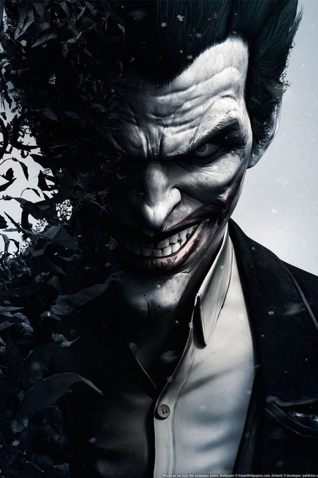 IPhone 4S 4 Joker Wallpapers HD Desktop Backgrounds 640x960