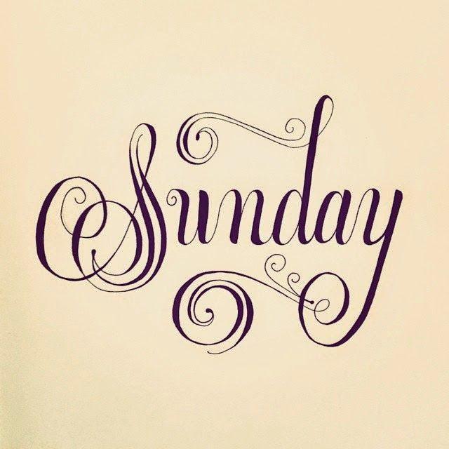 Roberta...Charme and More: Sunday Morning