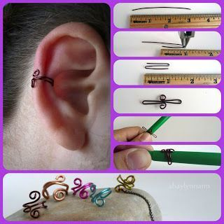 Photo of Behind the ear (DIY fake earrings) – get the Kika tip #gefals …, #dem #de …