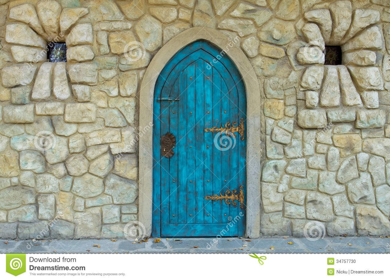 Old Castle Door Stock Photo - Image 34757730 & Old Castle Door Stock Photo - Image: 34757730   Doors   Pinterest ...