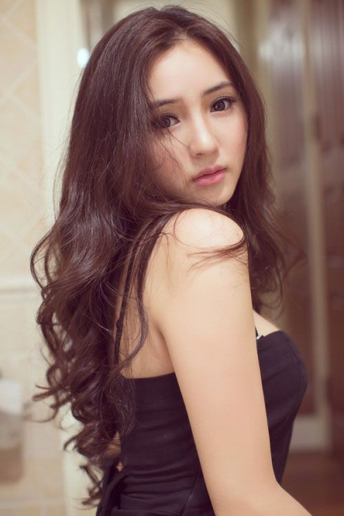 The Sexiest Korean Women Long Hair Styles Hair Styles Beauty