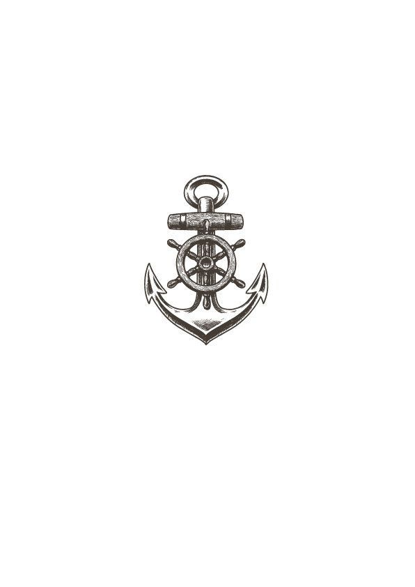 1 ANCHOR TATTOO temporary tattoo (2.00 EUR) by NeeoTattoo #Maoritattoos